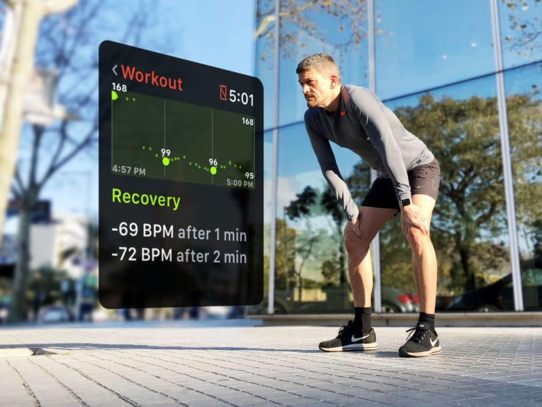 It's not about how far you run, it's how fast you recover. Apple Watch heart rate recovery data gives you the facts.