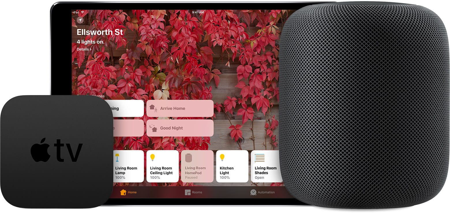 HomePod is a great HomeKit Home Hub. For your home.