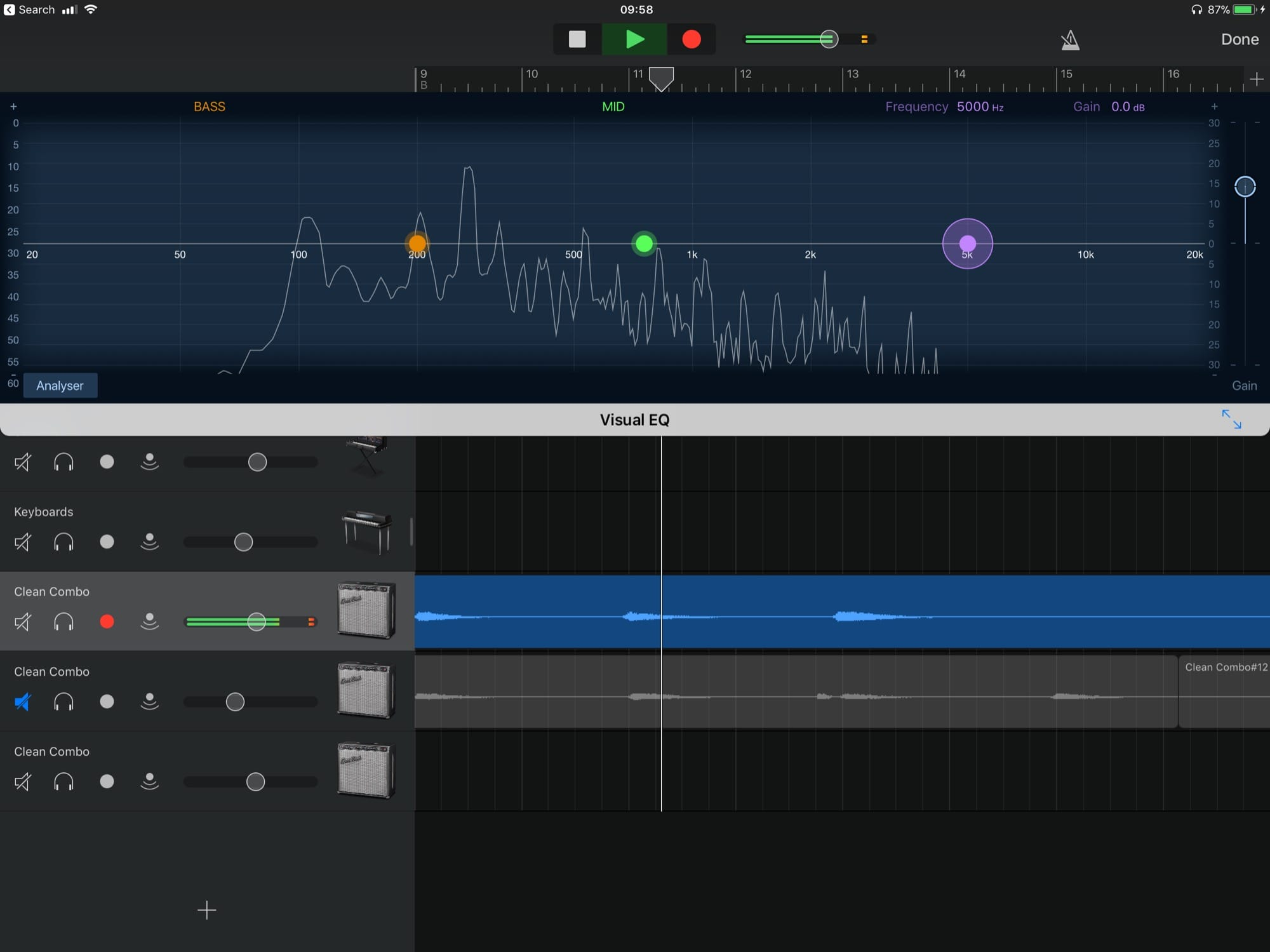 The 'visual' part is what makes this EQ so great.