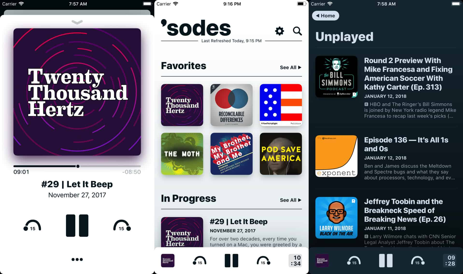 Sodes is clean and simple.