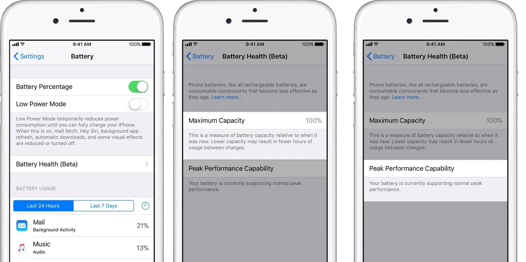 How to disable iOS 11 3's new battery Performance Management