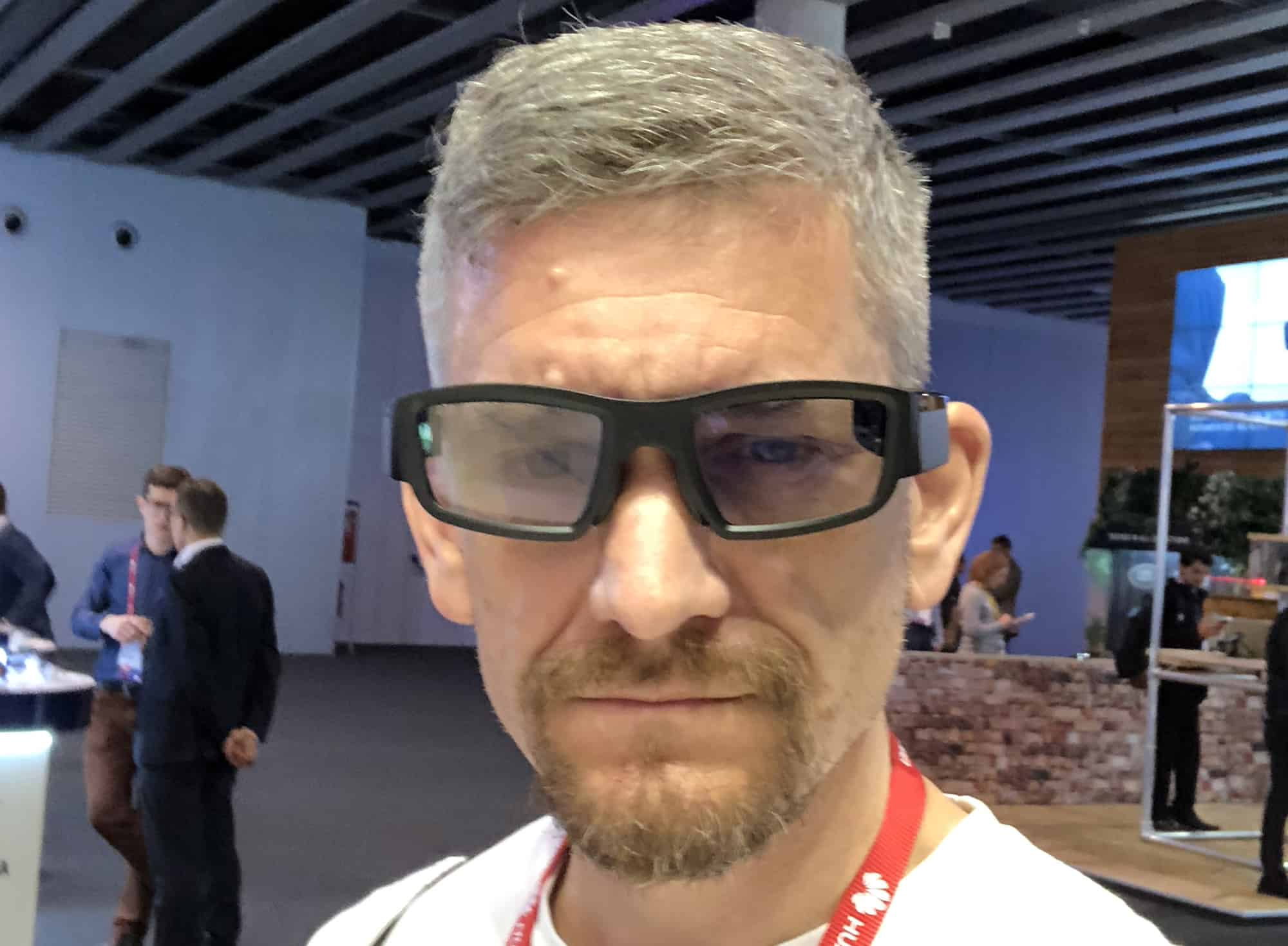 I look dorky even when I'm not wearing smartglasses like Vuzix Blade AR glasses.