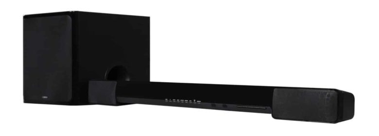 Save on Yamaha sound bar YAS-203BL.