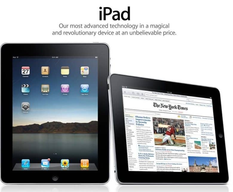 The iPad delivered Apple's
