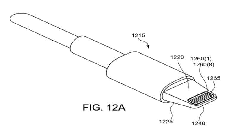 Apple's concept for a waterproof Lightning connector