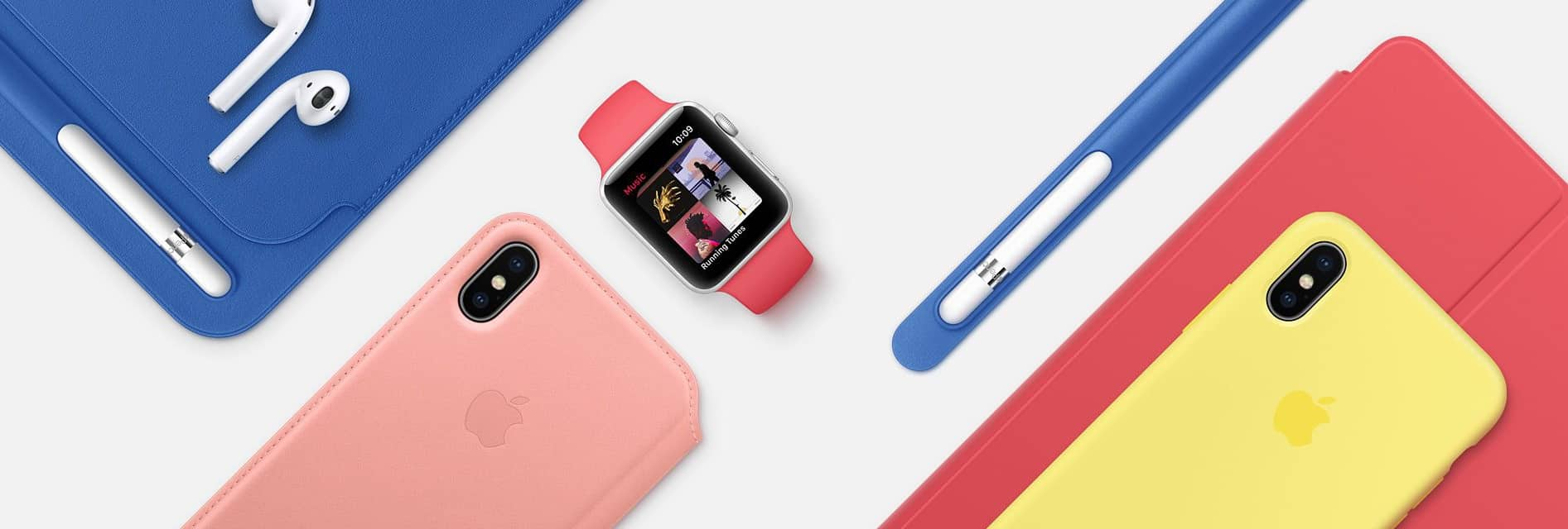 timeless design 3bf1b 66e66 New iPhone cases and Apple Watch bands burst with spring colors ...