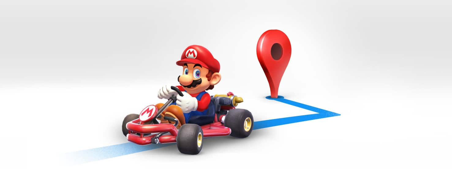 Super Mario Google Maps