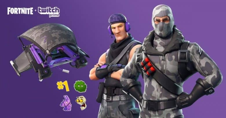 Fortnite Twitch Prime loot