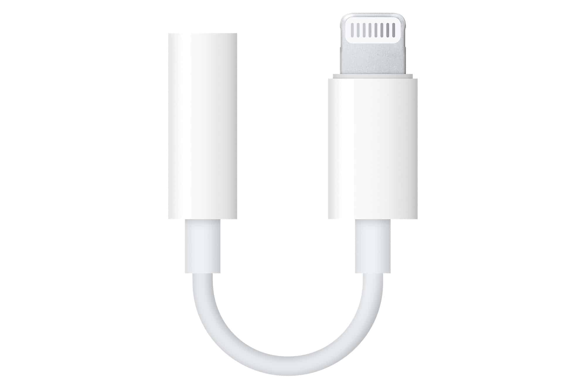 Apple 3.5mm to Lightning cable