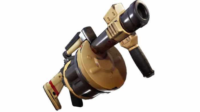 Fortnite grenade launcher