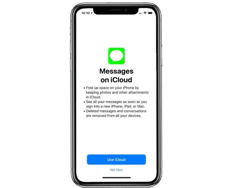 iMessages in iCloud is coming in iOS 11.3.