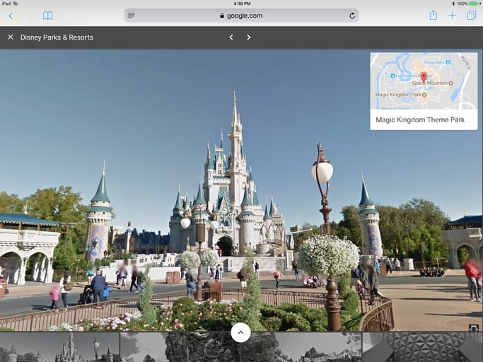Google Street View does Disneyland | Cult of Mac