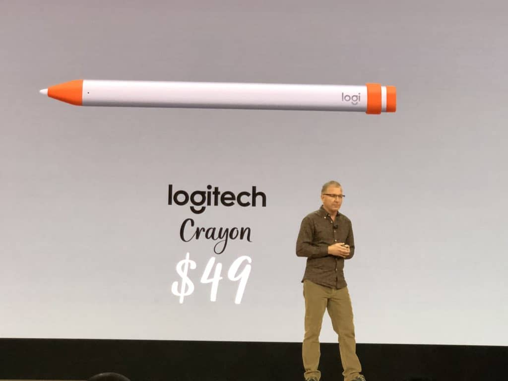 Logitech Crayon is a cheaper Apple Pencil substitute