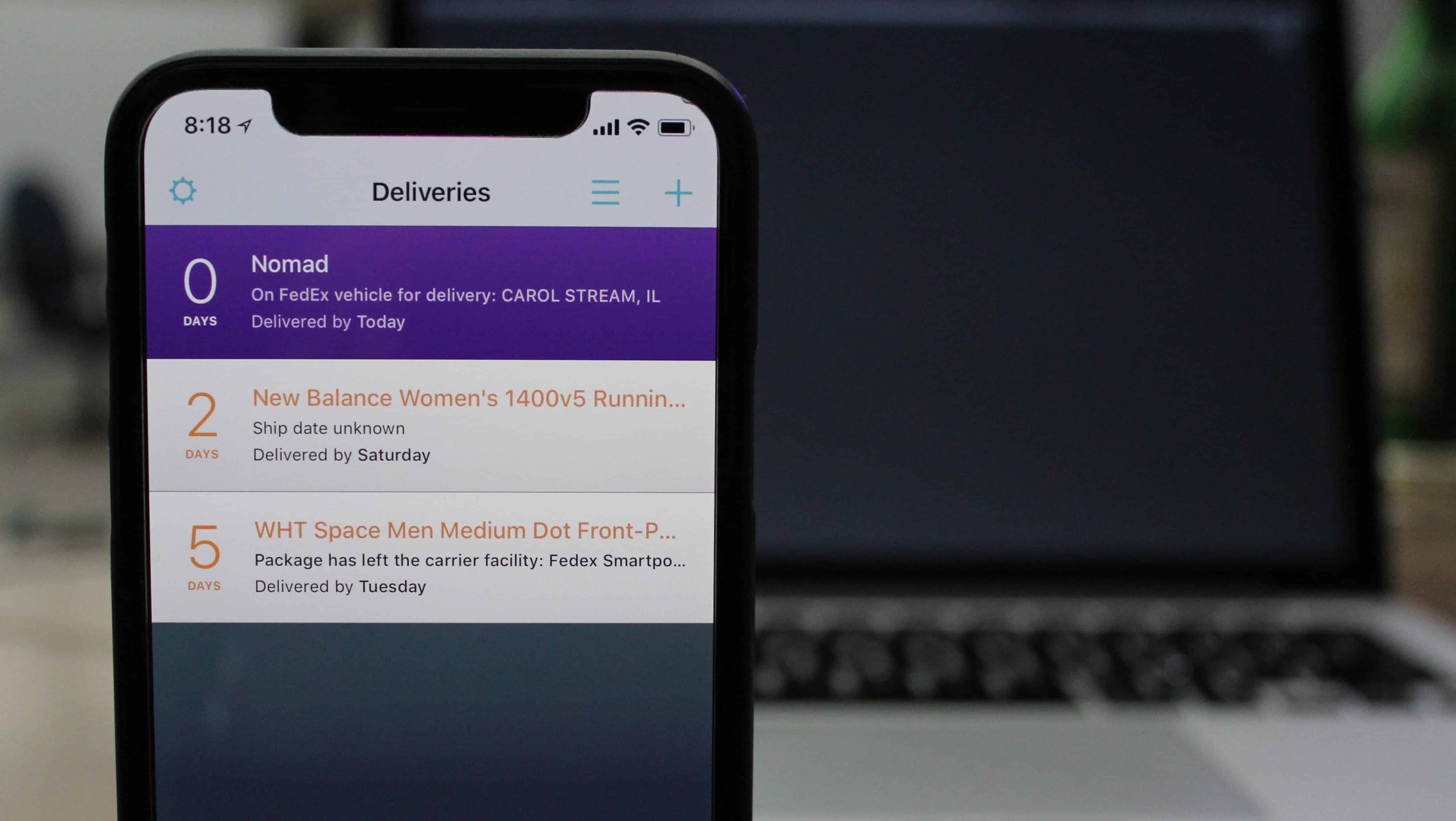 Deliveries for iOS