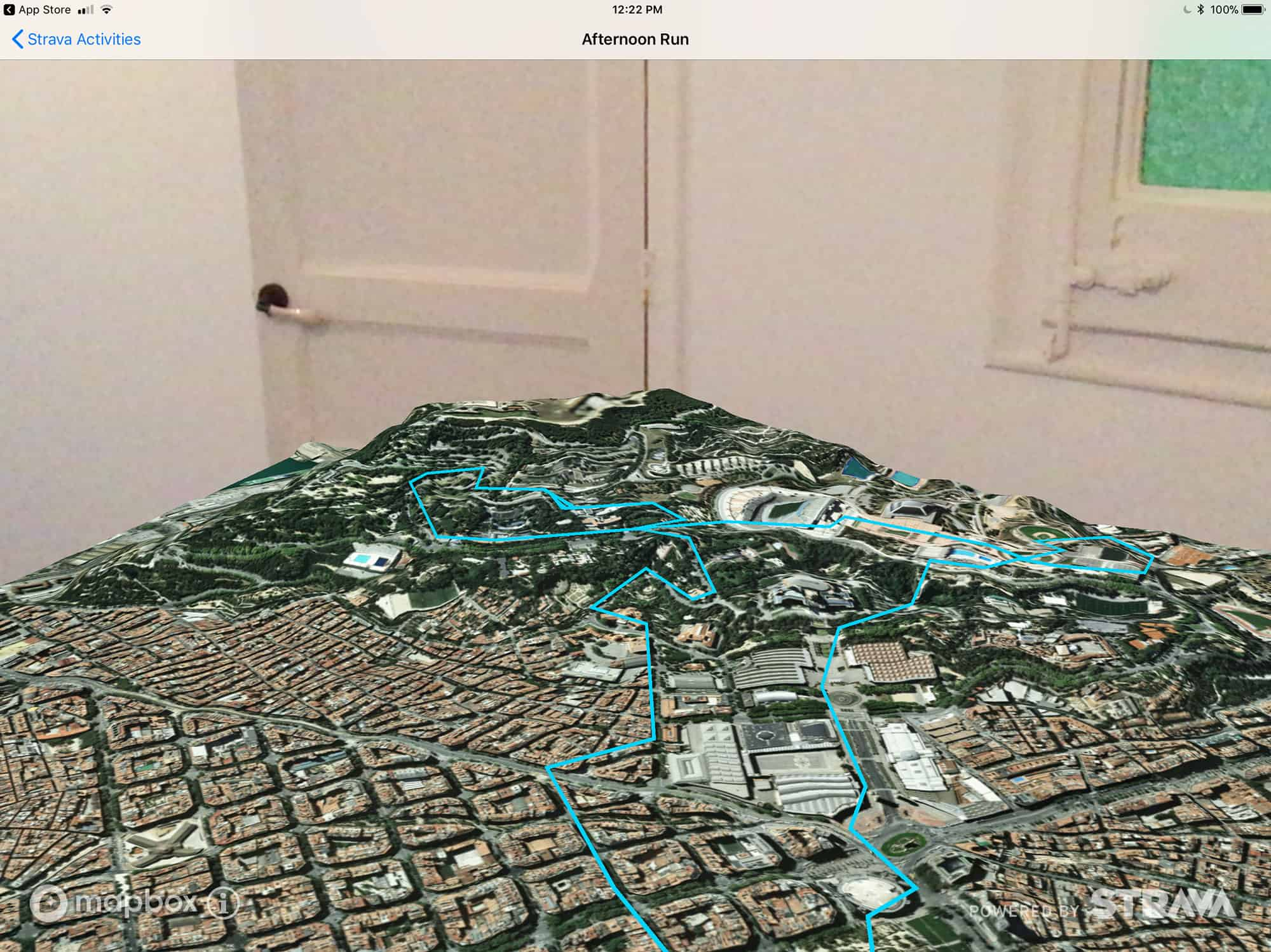 Fitness AR lets you visualize your hill running routes in 3D with augmented reality