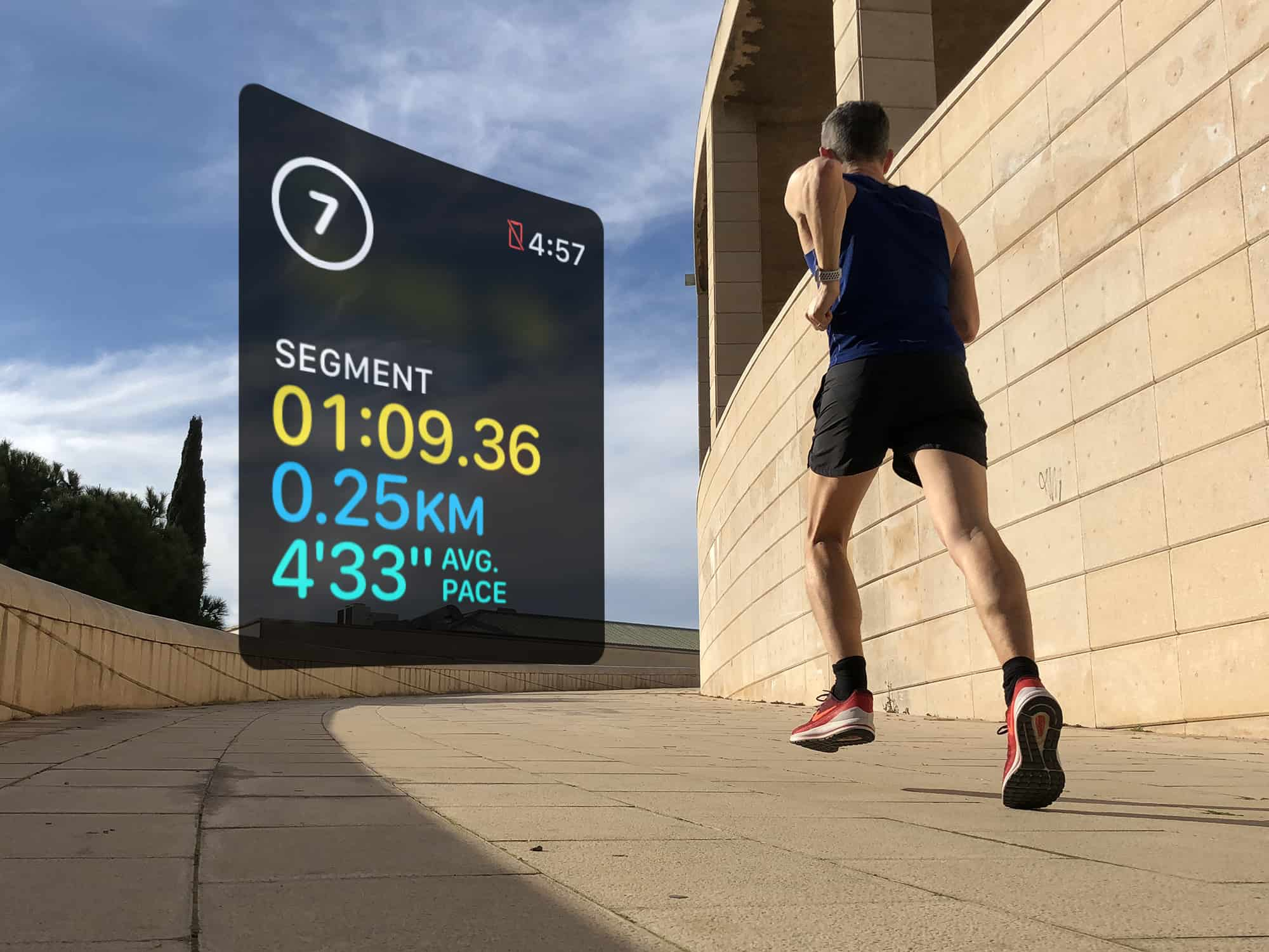 Use segments to log your rest intervals doing HIIT workouts
