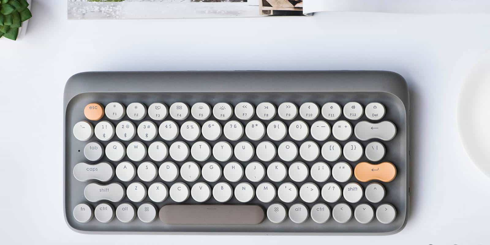 Get the feel of a classic mechanical keyboard under your fingers again.