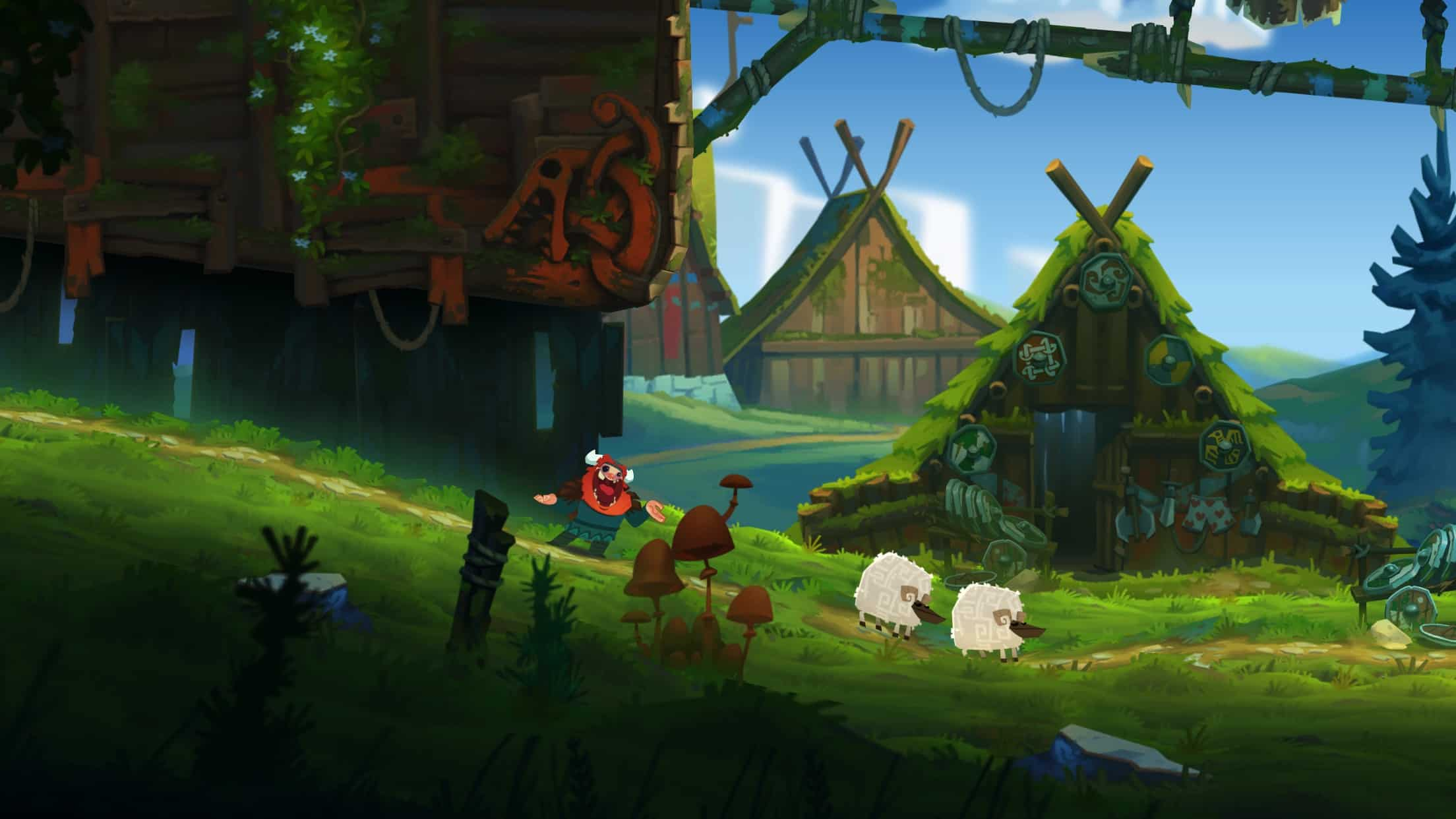 Oddmar is a Viking-themed platformer from the makers of