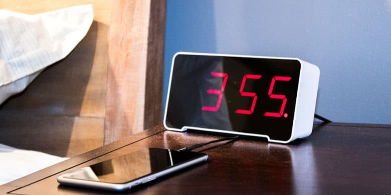 This classic alarm clock comes with 4 USB ports and some other cool features.