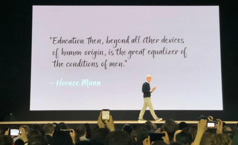 """Education then, beyond all others devices of human origin, is the great equalizer of the conditions of men."" - Horace Mann"