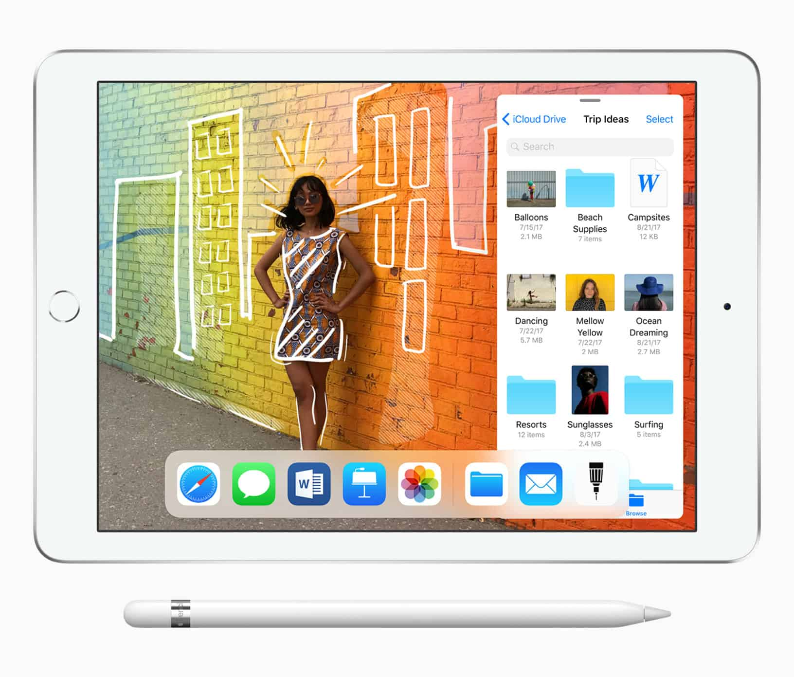 Save on the new iPad. You can use the money you save to buy an Apple Pencil!