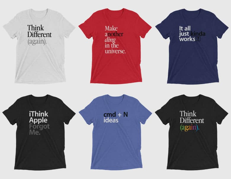 Shirts T Urge Differentagain Sarcastic Cupertino To Apple 'think ' yb7IfgvY6m