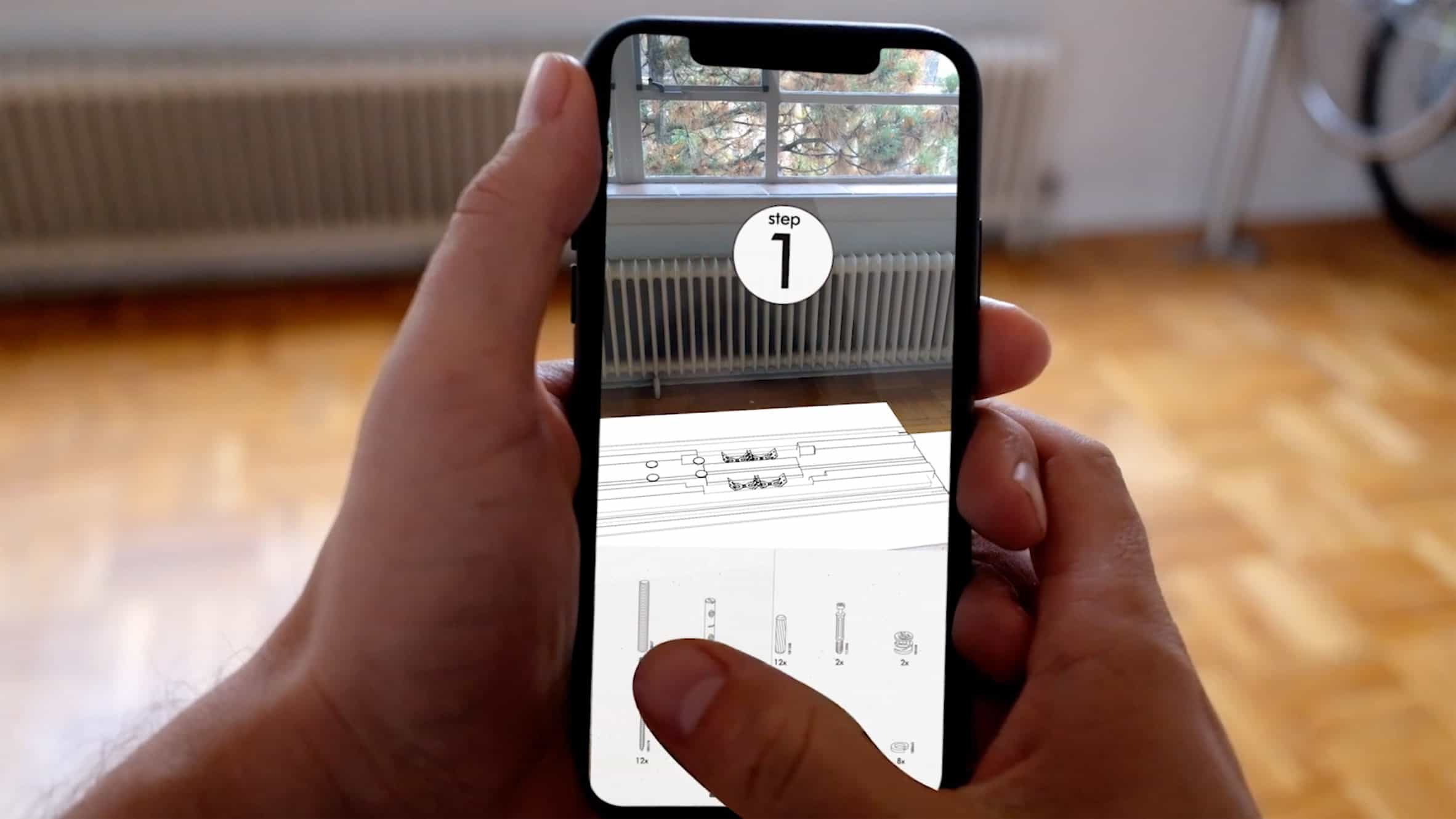 ar app solves life s greatest mystery how to assemble ikea products cult of mac. Black Bedroom Furniture Sets. Home Design Ideas