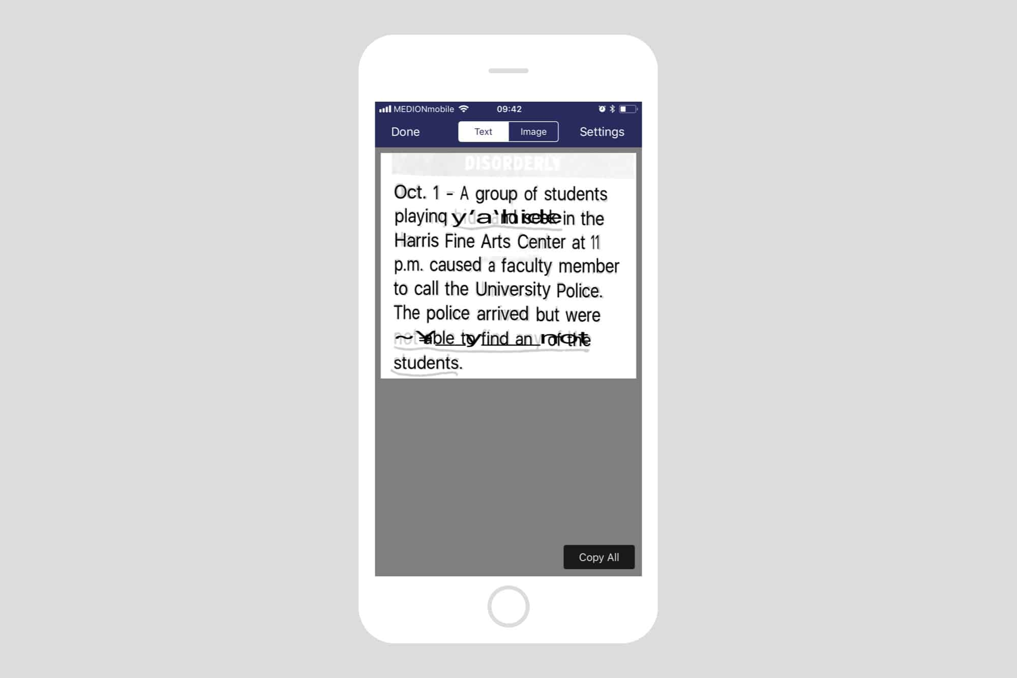 How to extract text from JPEG screenshots on iPhone | Cult of Mac