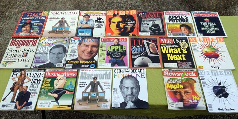 Start adding Apple-related magazines and your vintage computer collection will never end!