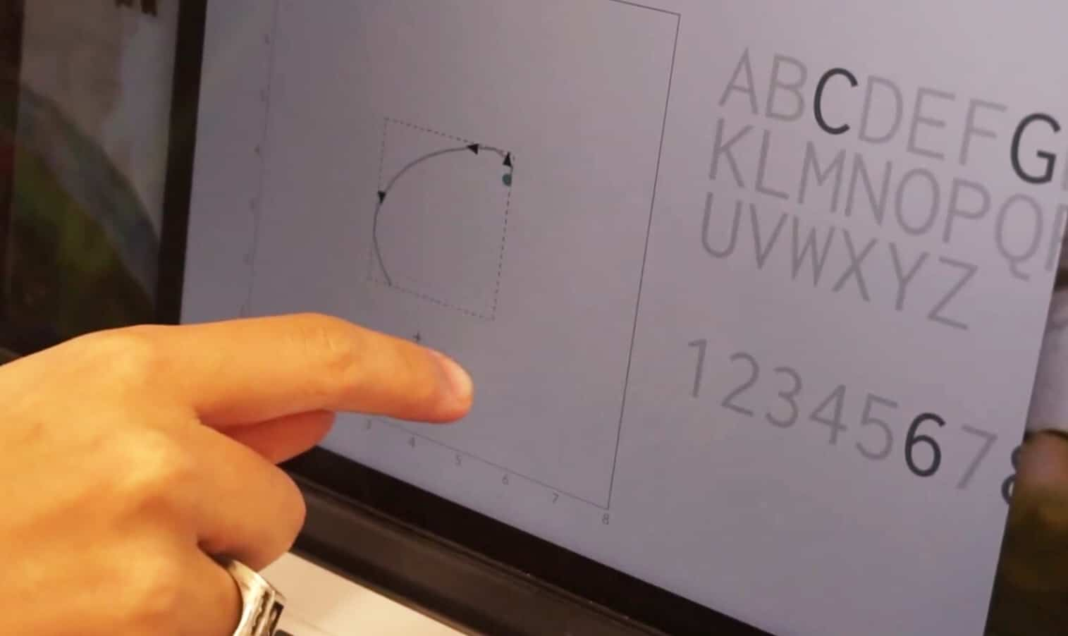Touchscreen MacBook prototype