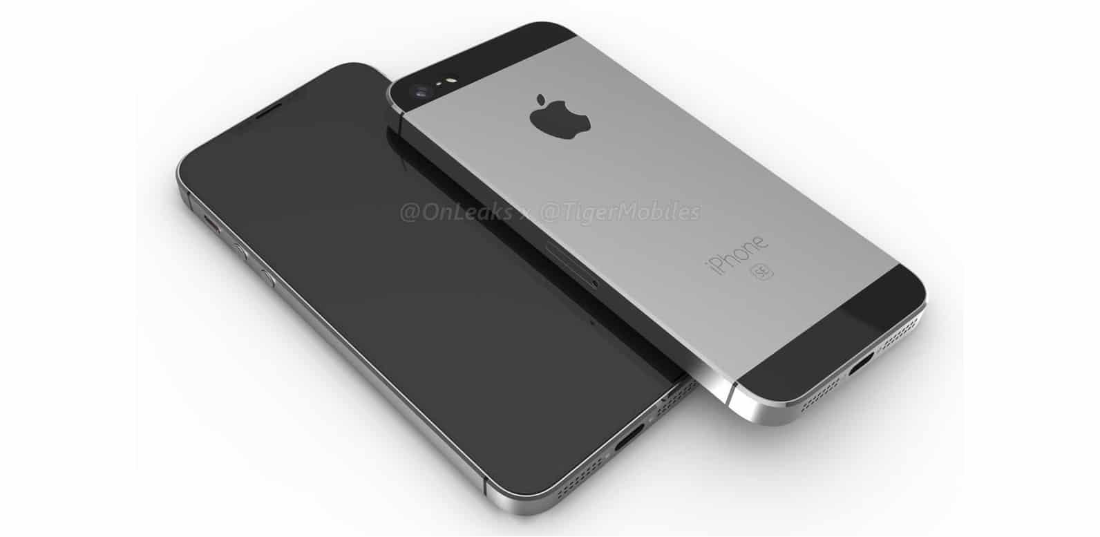 2018 iPhone SE render