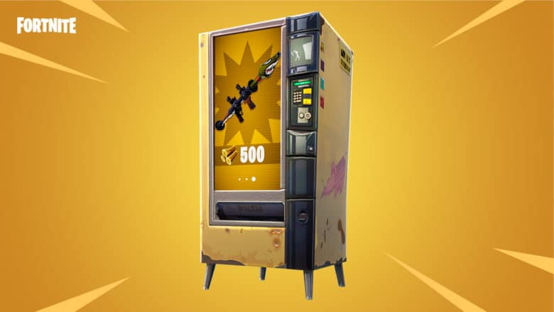 Fortnite gets weapon vending machines, explosive game mode