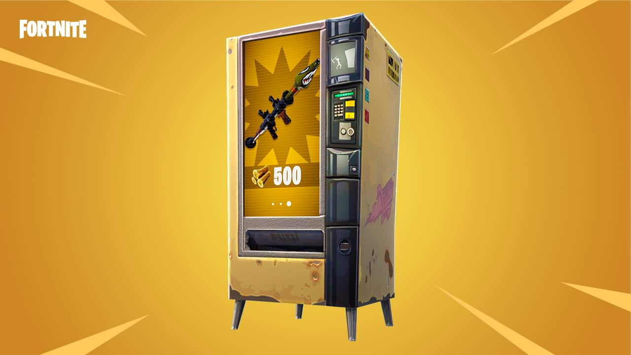 Fortnite vending machine