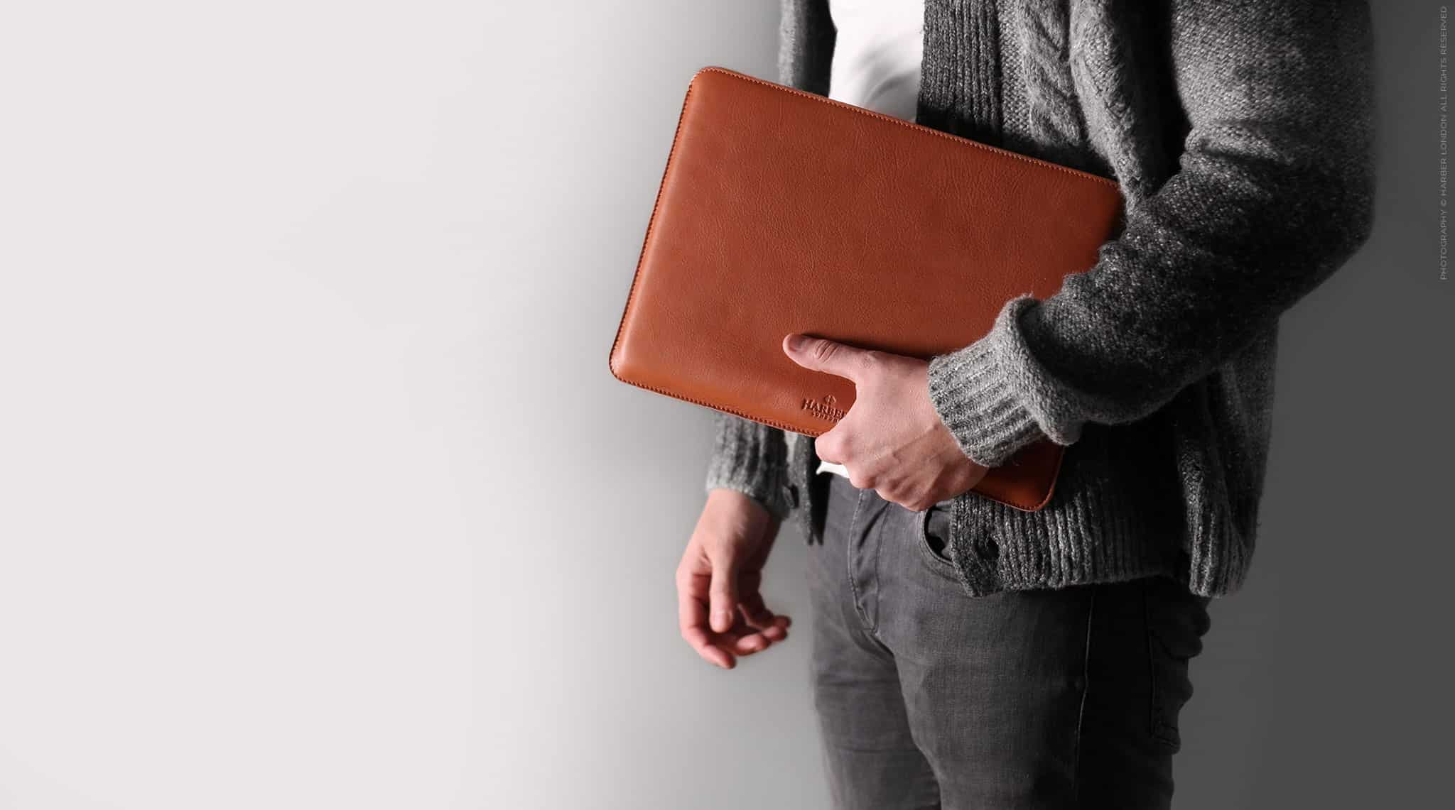 These handmade leather sleeves are the ideal companion to any MacBook.