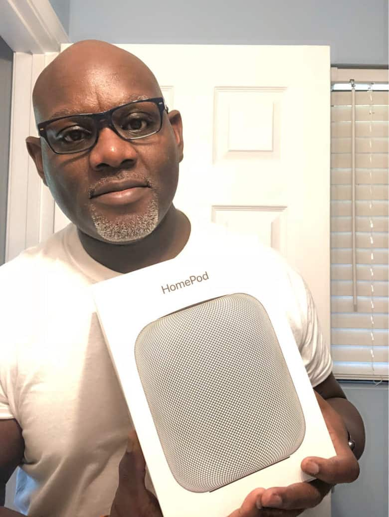 Aaron B. is the lucky winner of a brand new Apple HomePod.