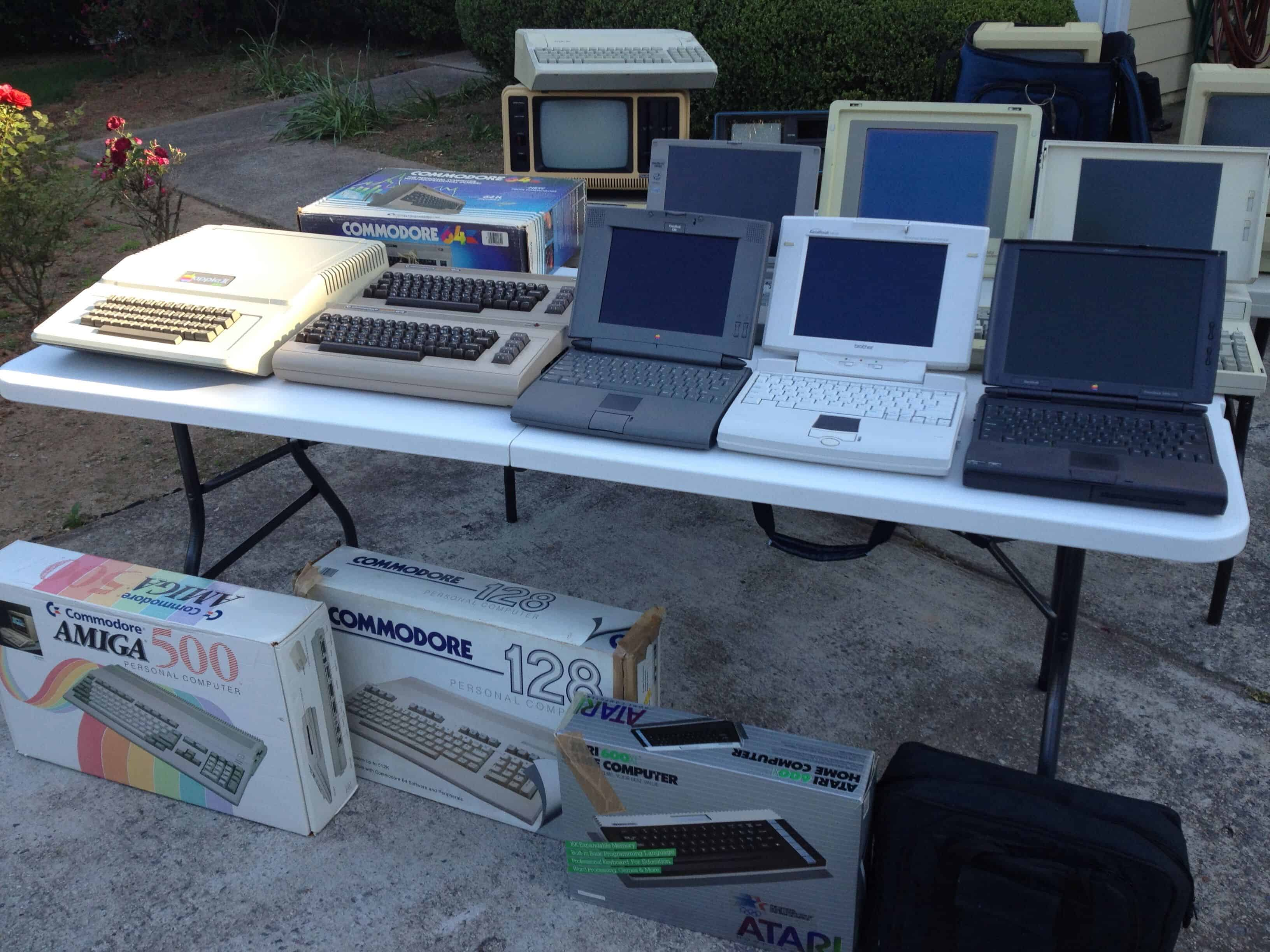 Once you start collecting computers, it's hard to stop!