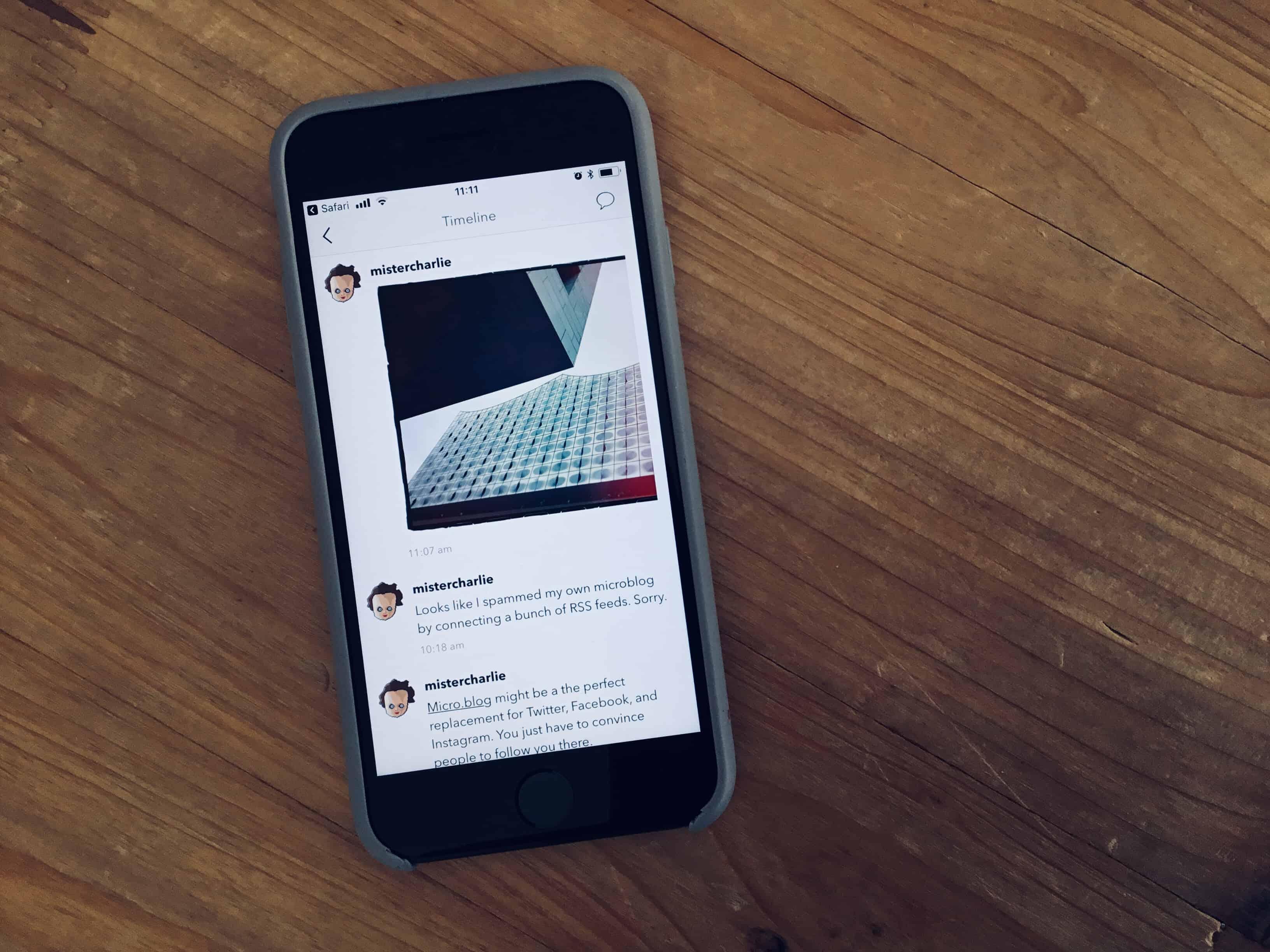 micro.blog app leave facebook