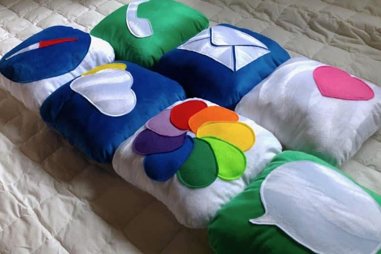 icon pillows