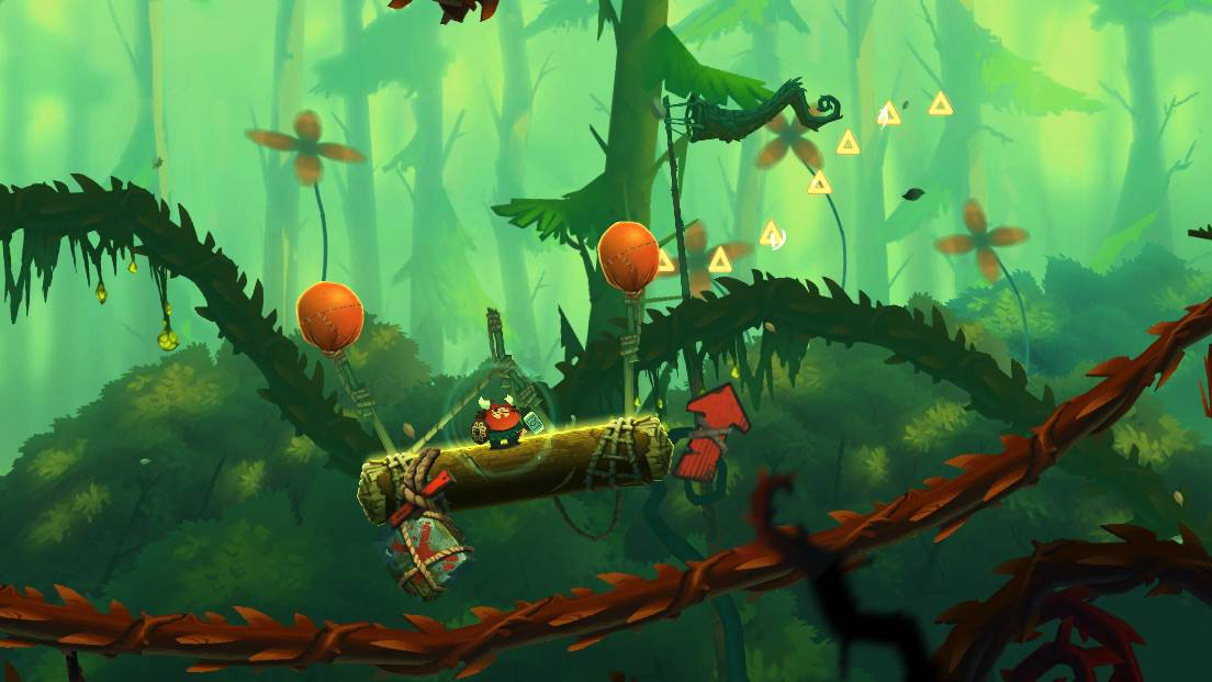Oddmar is an iOS platformer from the maker of Leo's Fortune that puts an original twist on a favorite genre.