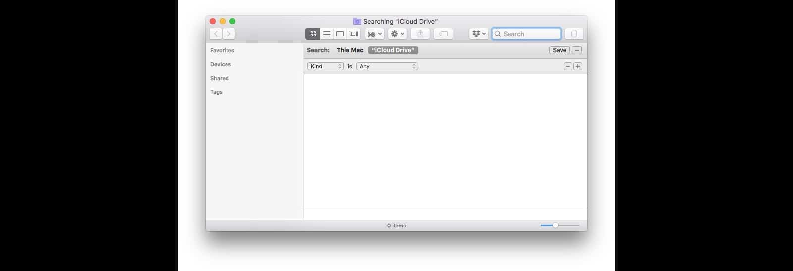 This is the basic 'Find' window in Finder.