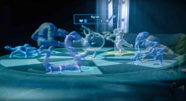 The latest update to Disney and Lenovo's AR Star Wars game makes the holochess portion free on ARKit-enabled iPhones.