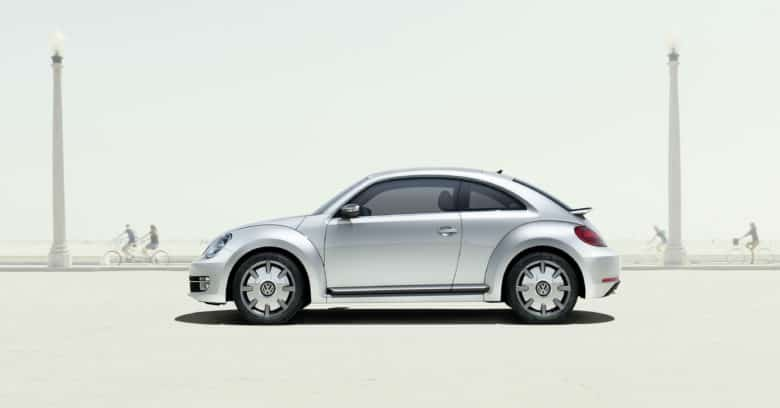 The first Apple car, a collaboration with VW known as the iBeetle, rolls onto the scene.