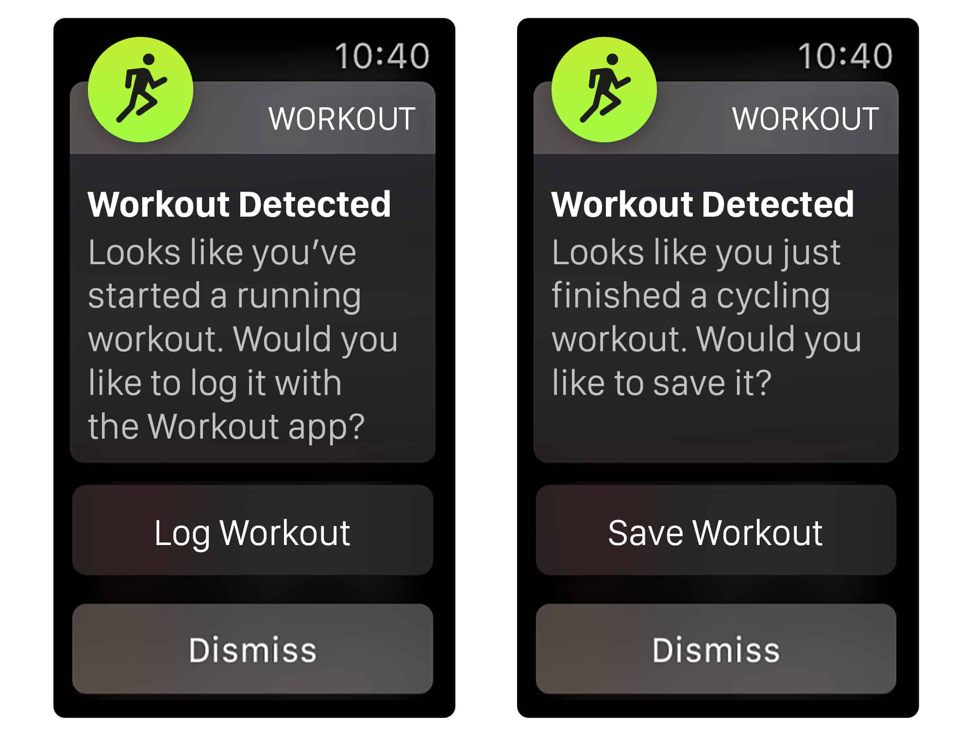Adding automatic workout detection to watchOS 5 would help when you forget to start an Apple Watch workout.