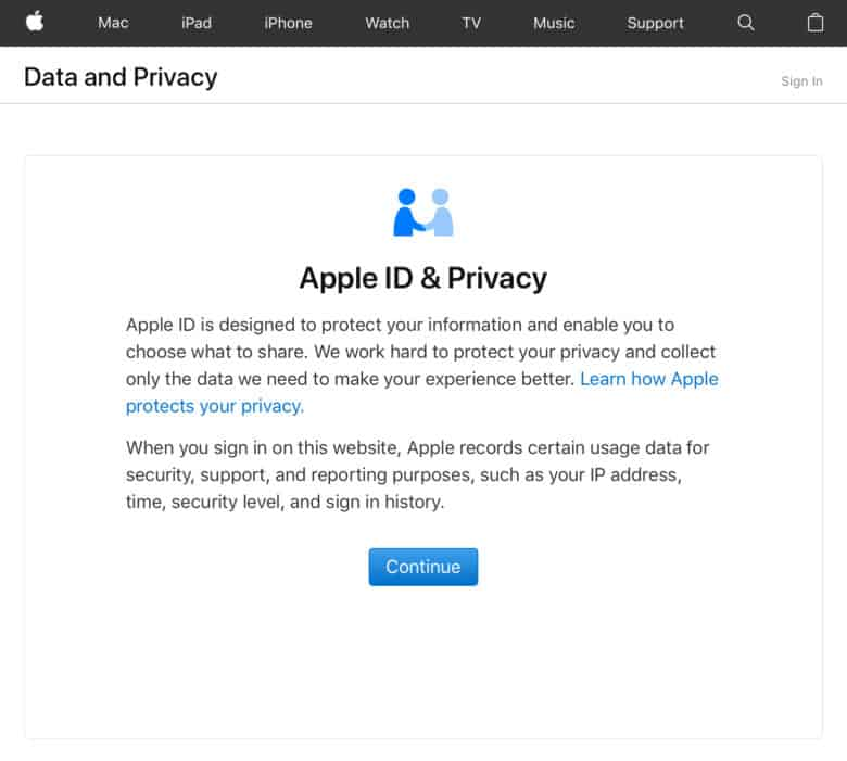 Apple To Allow All Users To Download Their Collected Data