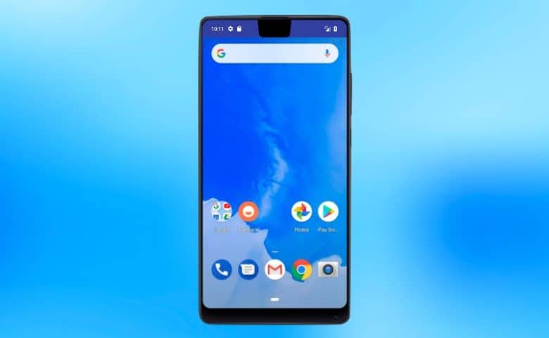 Android P has a similar swipe-based navigation system as the iPhone X, and it supports screen cutouts.
