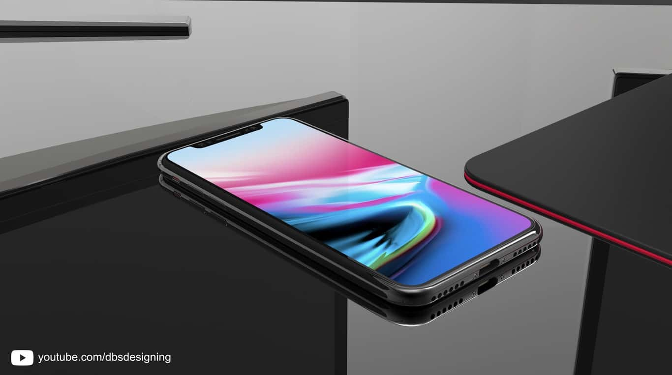 From the front, the 2018 iPhone will look much like the iPhone X.
