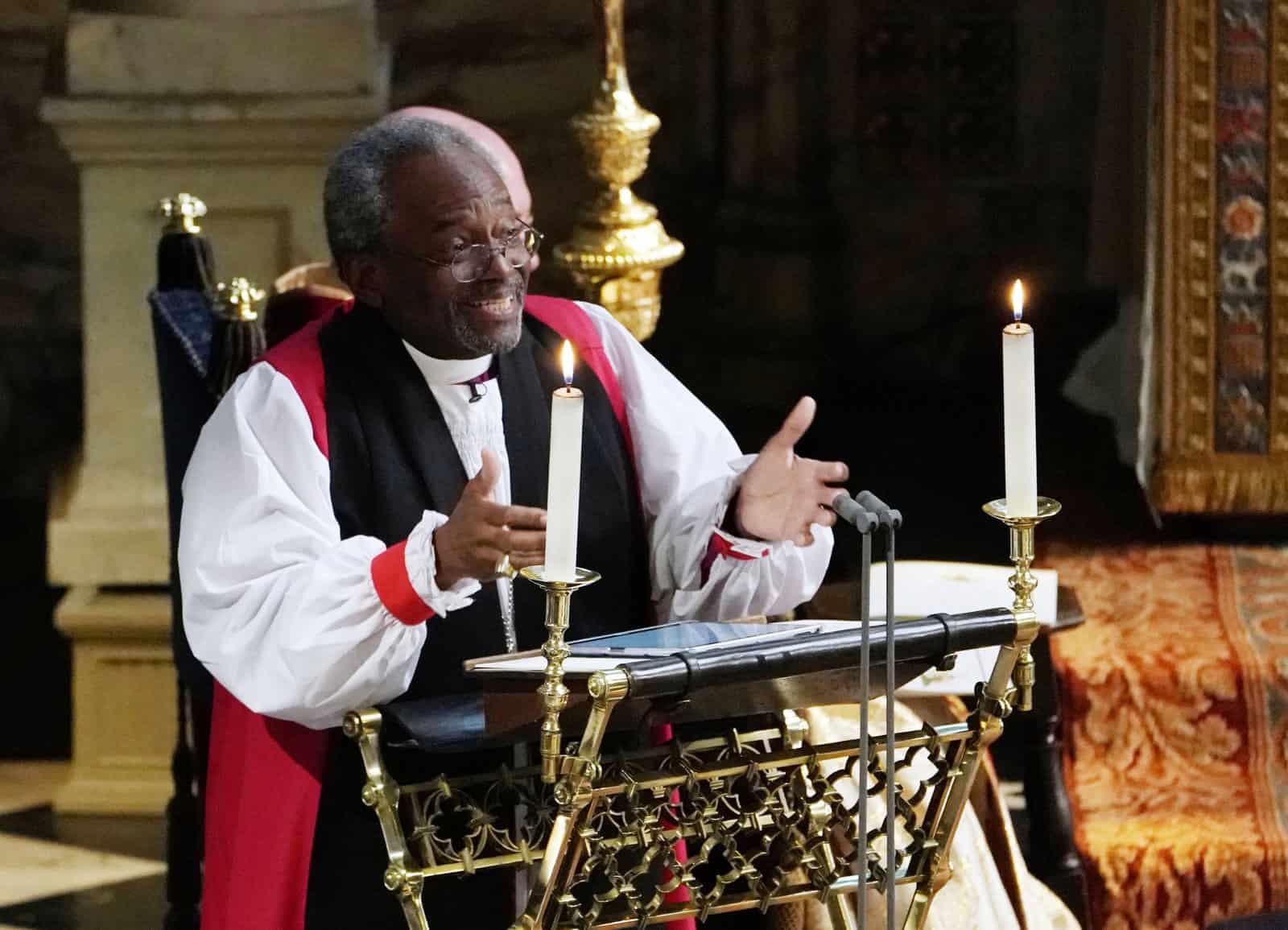 A royal wedding is a traditional affair, but an iPad still made an appearance.