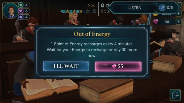 Hogwarts Mystery cost