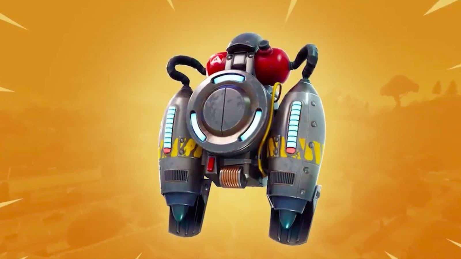 Fortnite Battle Royale jetpacks