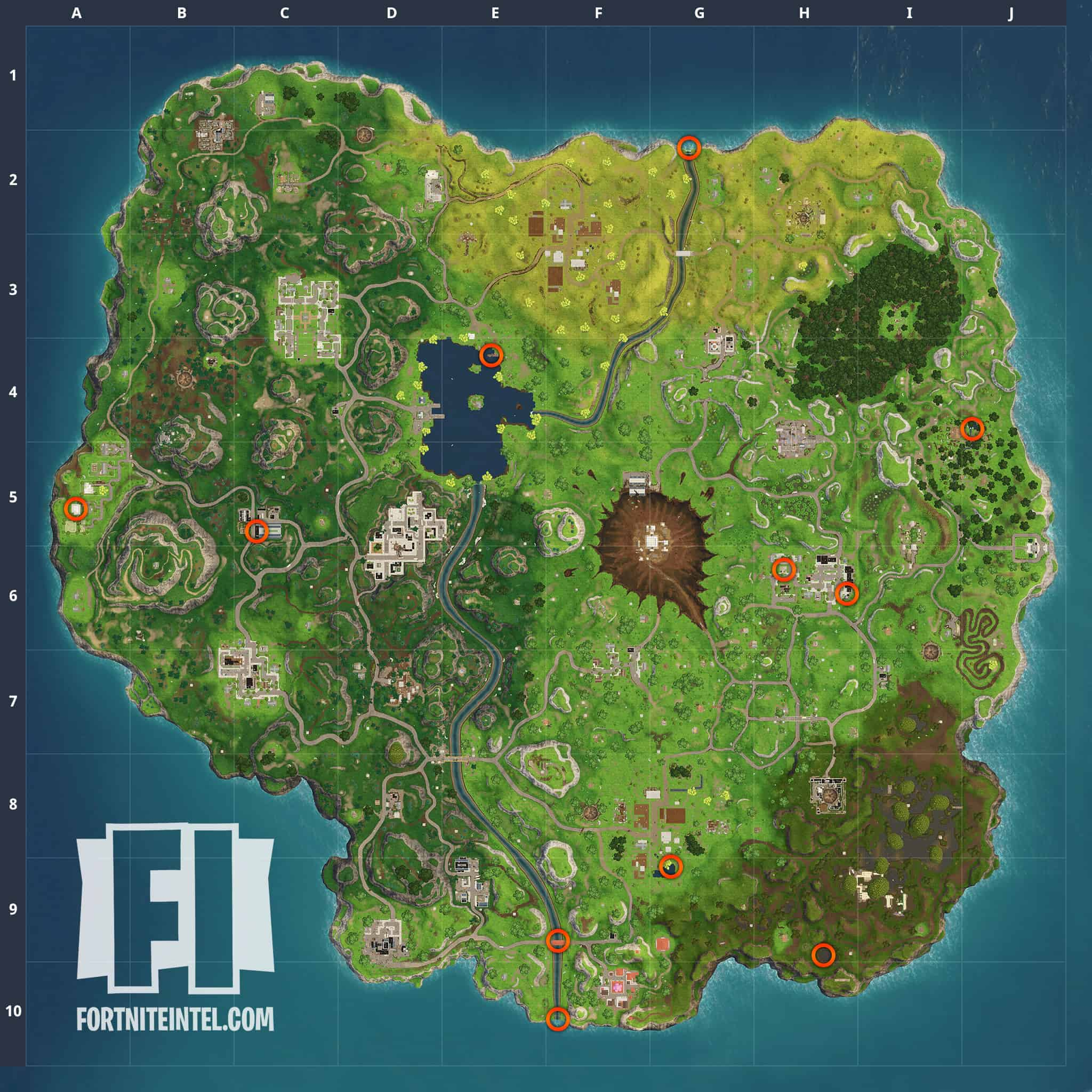 Fortnite rubber duckies map